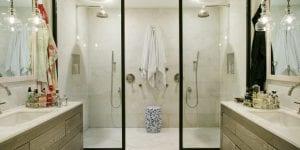 Custom Home Shower Suites