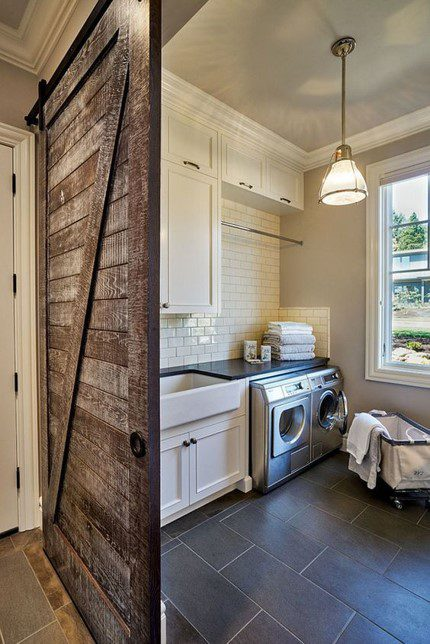 laundry room inspiration photo for New home construction Cincinnati