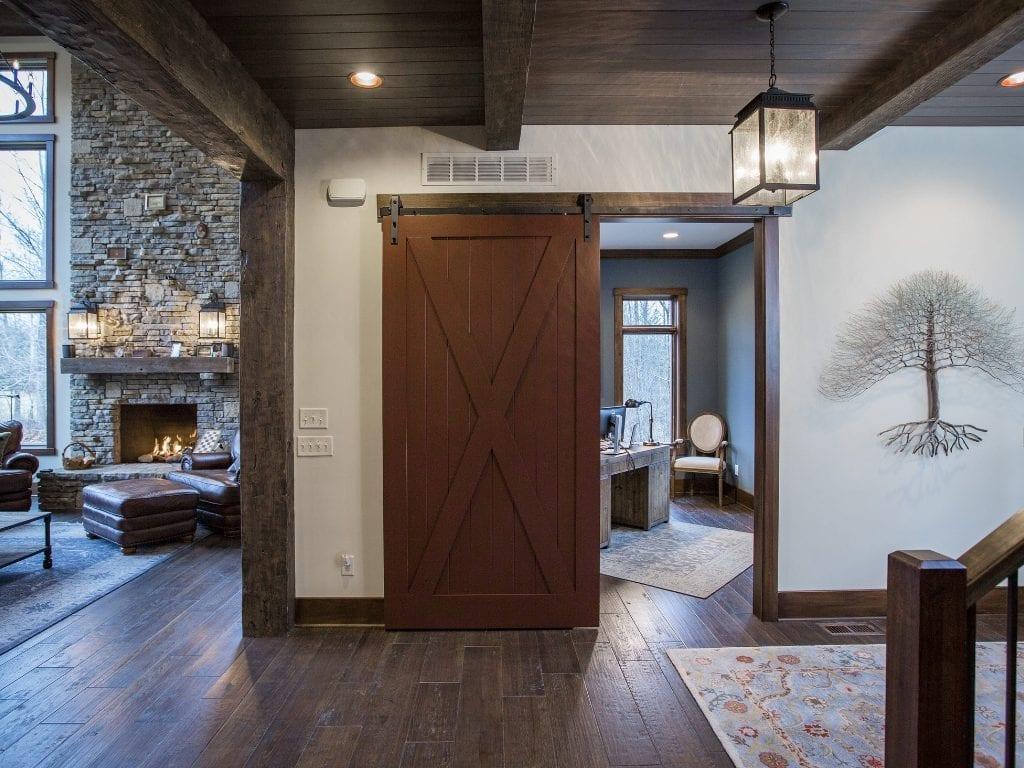 Lynnewood Cincinnati New Home Construction Timber Frames