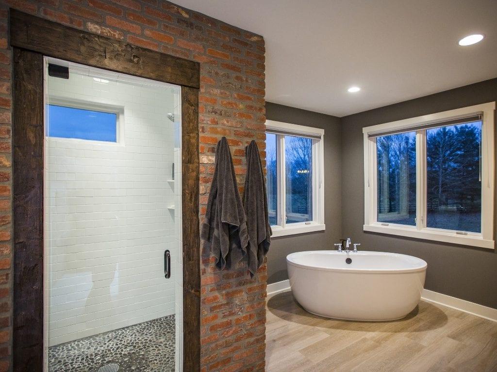 Lynnewood New Home Construction Cincinnati Master Bathroom
