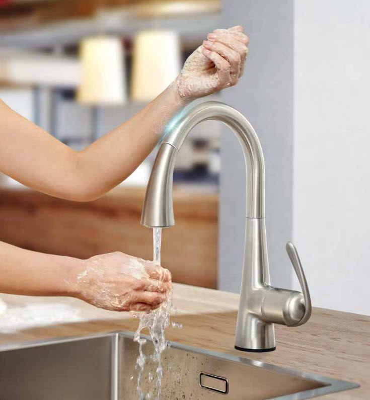 touch faucet for aging in place