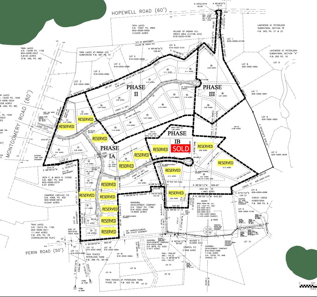 Meadows at Peterloon map