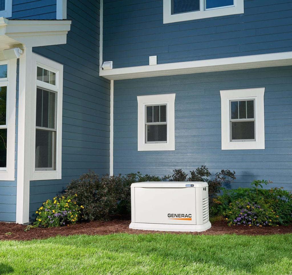 Generac generator for new home Cincinnati