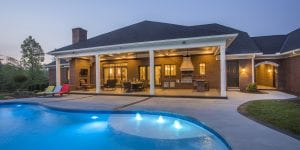 Carriage Hill Pool at Cincinnati custom home