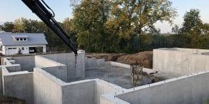 How to build a custom home foundations poured