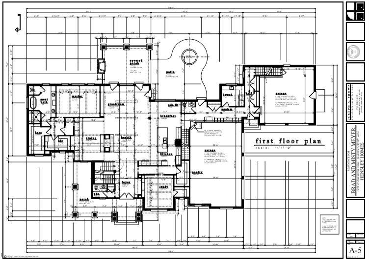 first floor plan New home construction Cincinnati