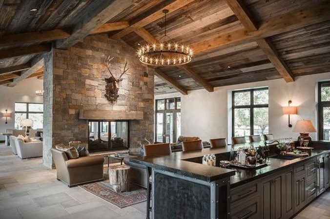 great room inspiration photo for New home construction Cincinnati