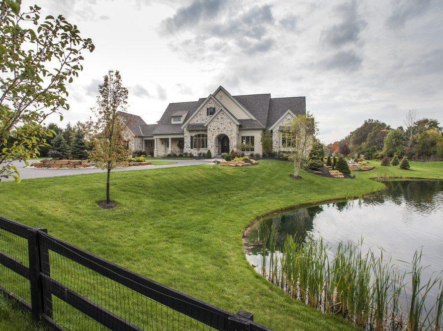 Stonewood luxury custom home
