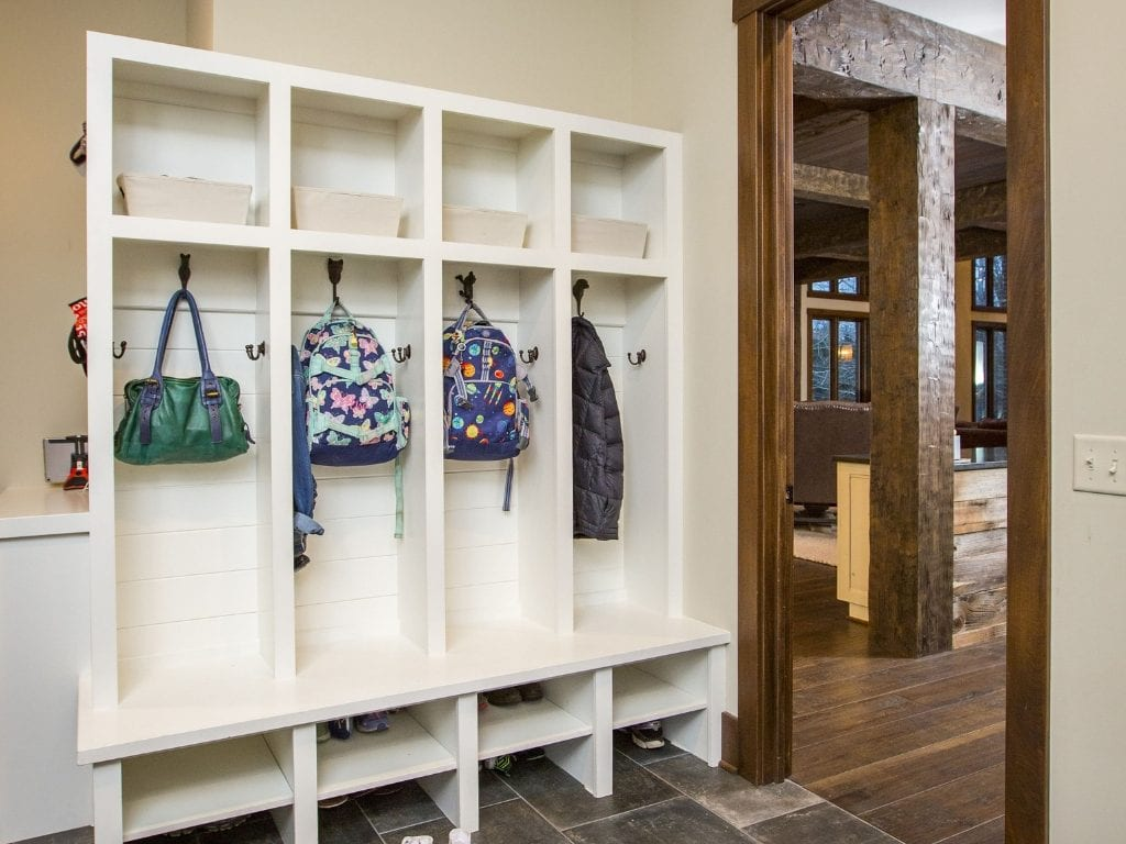 Mudroom Cuts Clutter in Hensley Custom Home