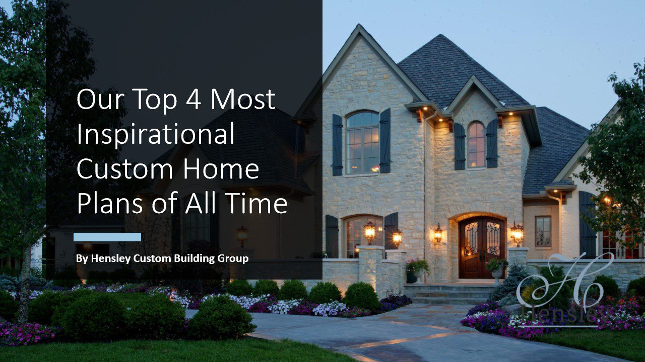 ebook with Cincinnati custom home plans