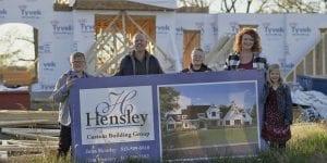 Family with Cincinnati new construction