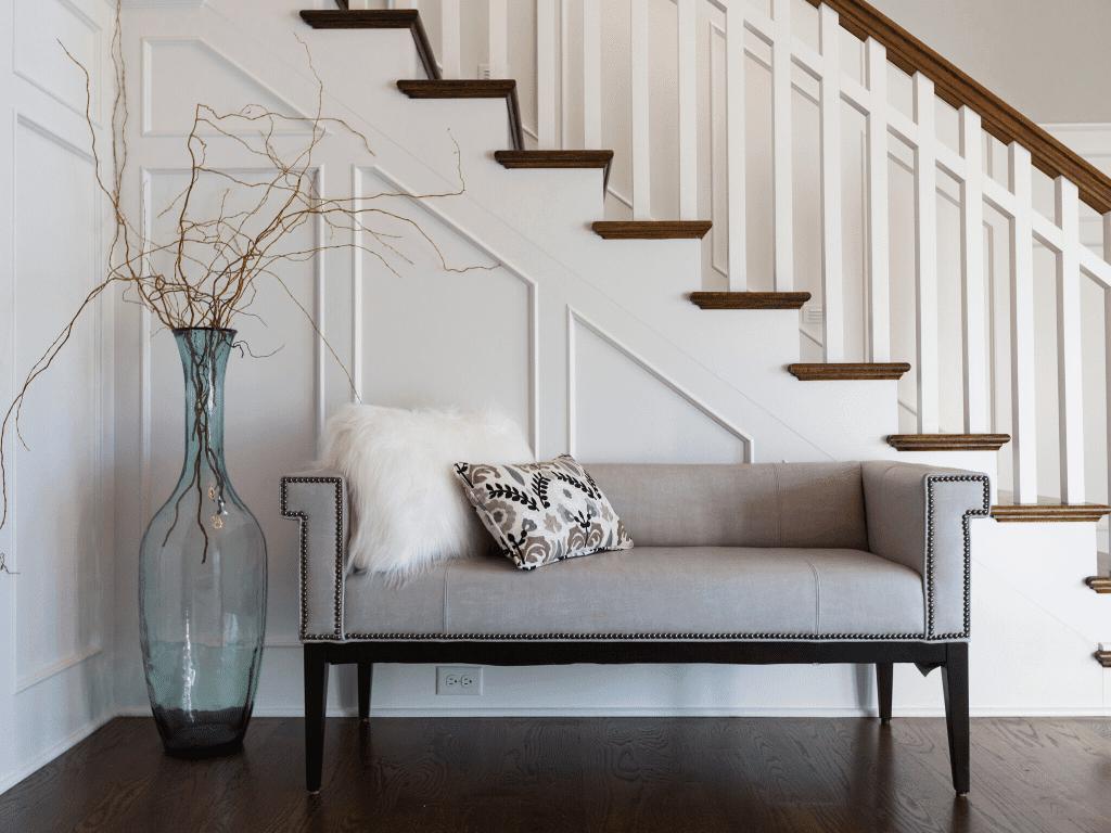 Cincinnati-custom-home-front-staircase-bespoke-Hensley