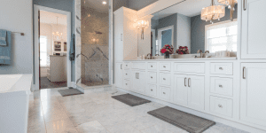 custom home bath ideas