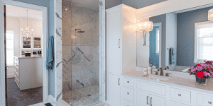 luxury shower is one of top master bath trends