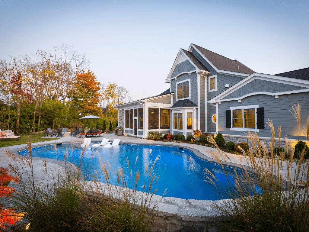 Cincinnati Long Cove Custom Home
