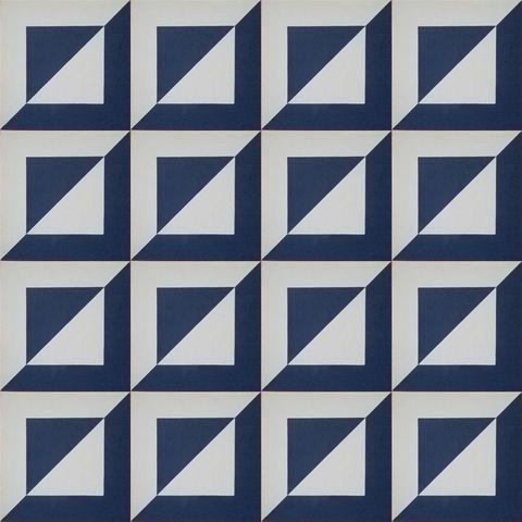 tile in blue pattern from Artisan Tile shop