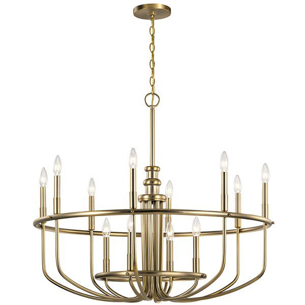 Kichler chandelier IBS 2020 custom home trends