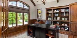 best home office setup golfers office