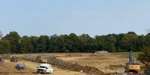 Crews start site work at Meadows at Peterloon