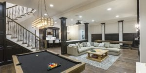 custom home game rooms