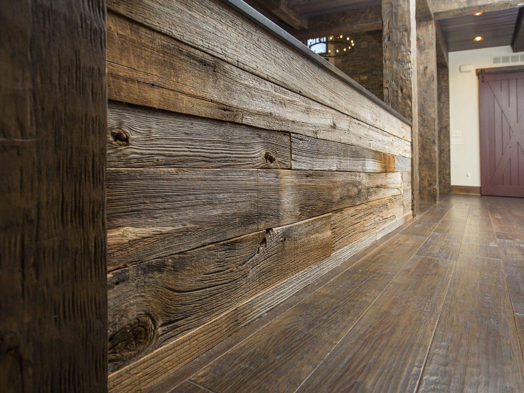 custom woodwork reclaimed wood
