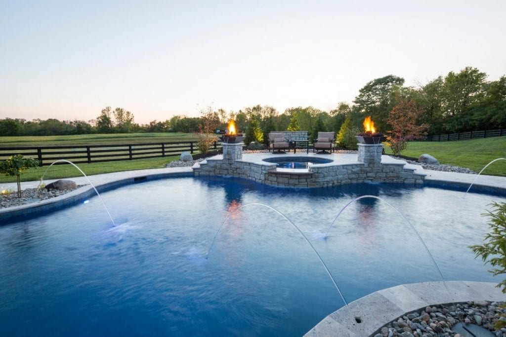 Custom Home Pool