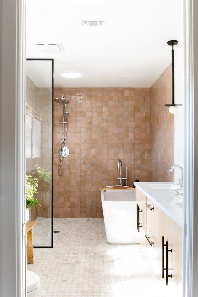 Velux solar tube in wet room bath