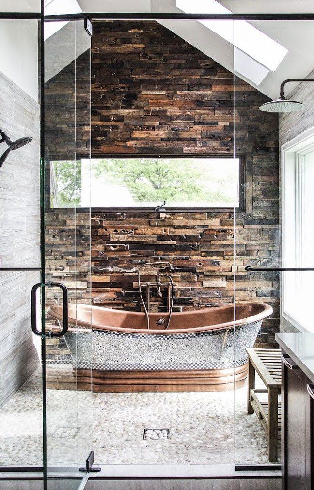 Wet room bath courtesy of Signature Hardware