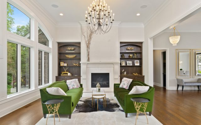 Home Trends 2021 the Color Green