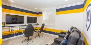 A blog about sports-themed home spaces